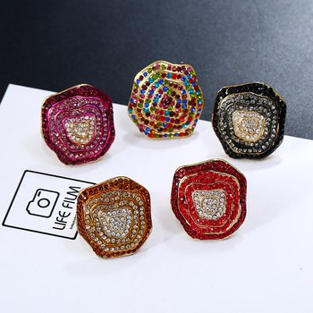 Cocktail Strass Ring I